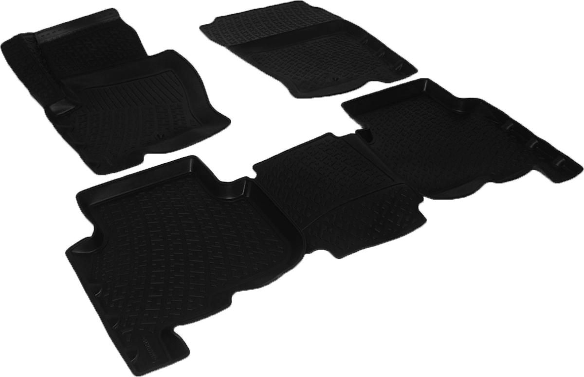 Набор автомобильных 3D-ковриков L.Locker для Land Rover Discovery IV (09-), в салон, 4 шт0232050101Коврики L.Locker производятся индивидуально для каждой модели автомобиля из современного и экологически чистого материала, точно повторяют геометрию пола автомобиля, имеют высокий борт от 3 см до 4 см, обладают повышенной износоустойчивостью, антискользящими свойствами, лишены резкого запаха, сохраняют свои потребительские свойства в широком диапазоне температур (от -50°С до +80°С).