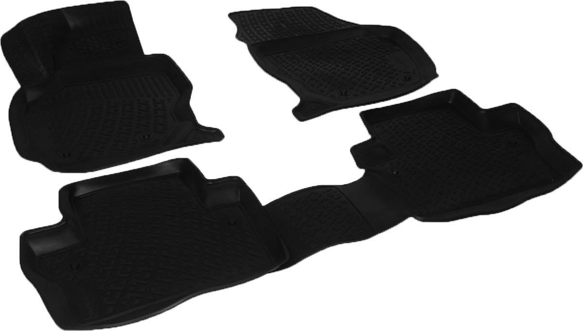 Коврики в салон автомобиля L.Locker, для Volvo XC70 (07-)0234020101Коврики L.Locker производятся индивидуально для каждой модели автомобиля из современного и экологически чистого материала. Изделия точно повторяют геометрию пола автомобиля, имеют высокий борт, обладают повышенной износоустойчивостью, антискользящими свойствами, лишены резкого запаха и сохраняют свои потребительские свойства в широком диапазоне температур (от -50°С до +80°С). Рисунок ковриков специально спроектирован для уменьшения скольжения ног водителя и имеет достаточную глубину, препятствующую свободному перемещению жидкости и грязи на поверхности. Одновременно с этим рисунок не создает дискомфорта при вождении автомобиля. Водительский ковер с предустановленными креплениями фиксируется на штатные места в полу салона автомобиля. Новая технология системы креплений герметична, не дает влаге и грязи проникать внутрь через крепеж на обшивку пола.