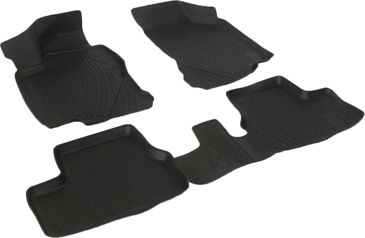 Коврики в салон автомобиля L.Locker, для Lada Granta (11-)0280080101Коврики L.Locker производятся индивидуально для каждой модели автомобиля из современного и экологически чистого материала. Изделия точно повторяют геометрию пола автомобиля, имеют высокий борт, обладают повышенной износоустойчивостью, антискользящими свойствами, лишены резкого запаха и сохраняют свои потребительские свойства в широком диапазоне температур (от -50°С до +80°С). Рисунок ковриков специально спроектирован для уменьшения скольжения ног водителя и имеет достаточную глубину, препятствующую свободному перемещению жидкости и грязи на поверхности. Одновременно с этим рисунок не создает дискомфорта при вождении автомобиля. Водительский ковер с предустановленными креплениями фиксируется на штатные места в полу салона автомобиля. Новая технология системы креплений герметична, не дает влаге и грязи проникать внутрь через крепеж на обшивку пола.