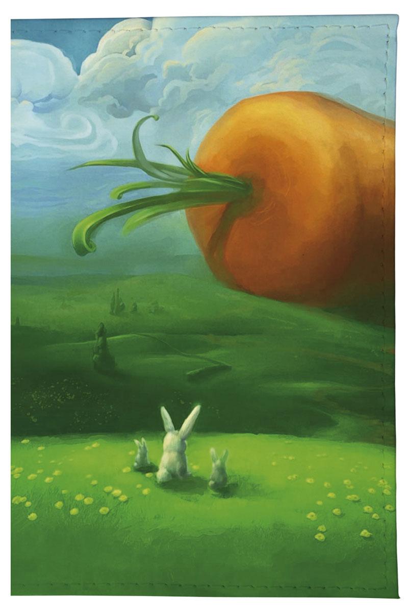 Mitya Veselkov Обложка для паспорта Заяц и морковка. OZAM044OZAM044