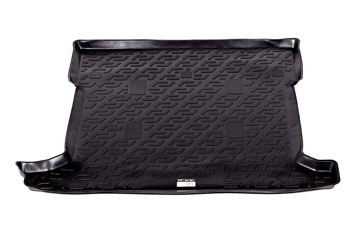 Коврик автомобильный L.Locker для Lexus LX 470 (98-07), в багажник0128010101Коврики L.Locker производятся индивидуально для каждой модели автомобиля из современного и экологически чистого материала, точно повторяют геометрию пола автомобиля, имеют высокий борт от 4 см до 6 см, обладают повышенной износоустойчивостью, антискользящими свойствами, лишены резкого запаха, сохраняют свои потребительские свойства в широком диапазоне температур (от -50°С до +80°С).