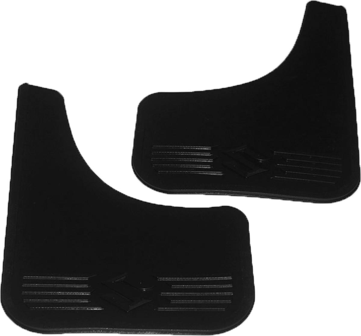 Комплект брызговиков универсальных L.Locker, для Suzuki, малые, 2 шт7012002251Брызговики изготовлены из высококачественного полимера, уникальный состав брызговиков допускает их эксплуатацию в широком диапазоне температур: - 50°С до + 80°С. Эффективно защищают кузов автомобиля от грязи и воды – формируют аэродинамический поток воздуха, создаваемый при движении вокруг кузова таким образом, чтобы максимально уменьшить образование грязевой измороси, оседающей на автомобиле.Разработаны индивидуально для каждой модели автомобиля, с эстетической точки зрения брызговики являются завершением колесной арки.