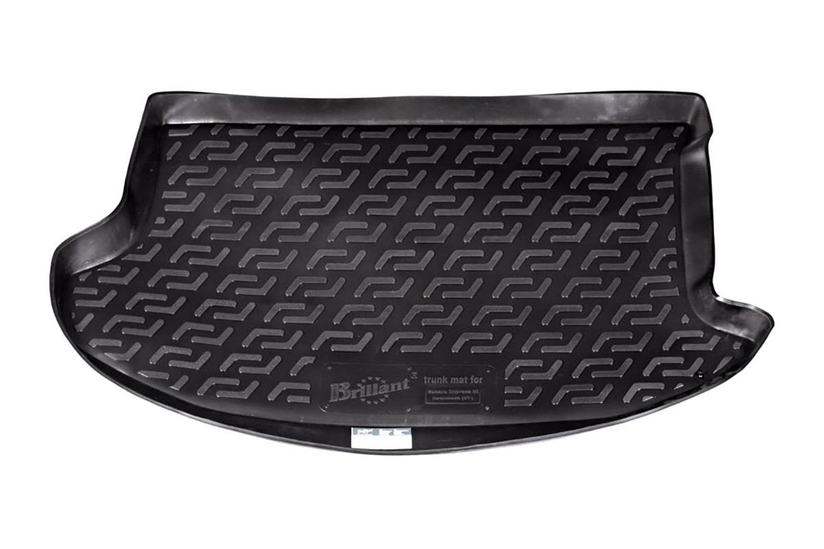 Коврик в багажник Subaru Impreza III hb (07-) полиуретан0140020101Коврики производятся индивидуально для каждой модели автомобиля из современного и экологически чистого материала, точно повторяют геометрию пола автомобиля, имеют высокий борт от 4 см до 6 см., обладают повышенной износоустойчивостью, антискользящими свойствами, лишены резкого запаха, сохраняют свои потребительские свойства в широком диапазоне температур (-50 +80 С).