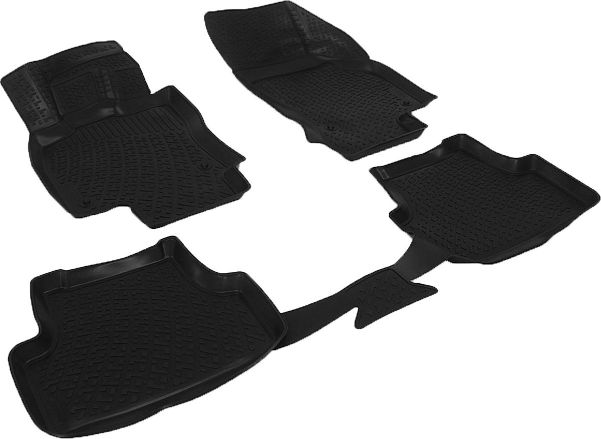 Коврики в салон автомобиля L.Locker, для Audi A3 (8V) sd (13-)0200020501Коврики L.Locker производятся индивидуально для каждой модели автомобиля из современного и экологически чистого материала. Изделия точно повторяют геометрию пола автомобиля, имеют высокий борт, обладают повышенной износоустойчивостью, антискользящими свойствами, лишены резкого запаха и сохраняют свои потребительские свойства в широком диапазоне температур (от -50°С до +80°С). Рисунок ковриков специально спроектирован для уменьшения скольжения ног водителя и имеет достаточную глубину, препятствующую свободному перемещению жидкости и грязи на поверхности. Одновременно с этим рисунок не создает дискомфорта при вождении автомобиля. Водительский ковер с предустановленными креплениями фиксируется на штатные места в полу салона автомобиля. Новая технология системы креплений герметична, не дает влаге и грязи проникать внутрь через крепеж на обшивку пола.