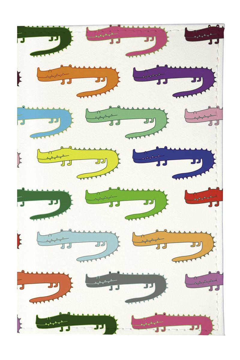 Mitya Veselkov Обложка для паспорта Цветные крокодилы. OZAM205OZAM205