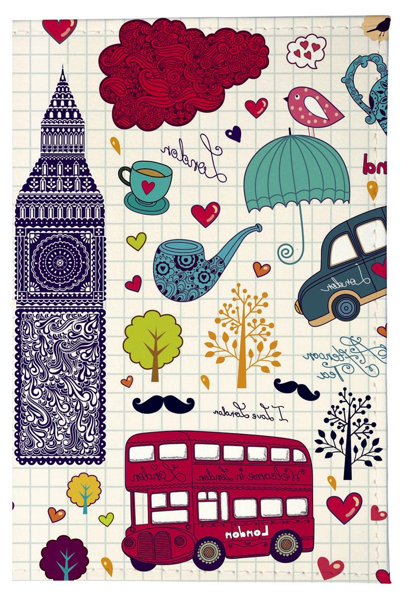 Mitya Veselkov Обложка для паспорта Утренний Лондон. OZAM207