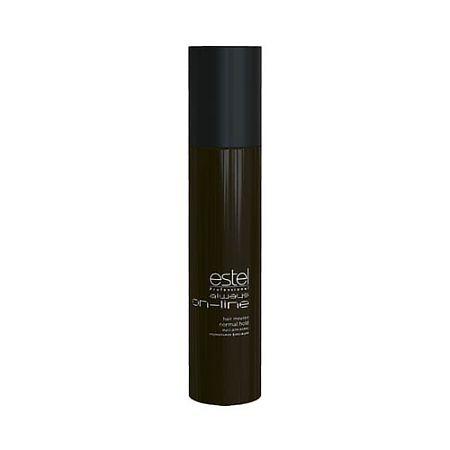 Estel Always On-Line Мусс для волос нормальная фиксация 300 млOL.5Estel Always On-Line Мусс для волос нормальная фиксация обеспечивает волосам длительную фиксацию и объём. Придает укладке чёткое очертание и фиксирует локоны. Делает волосы пластичными и податливыми к укладке.Профессиональная формула с витамином Е, провитамином B5 и экстрактом личи ухаживает за кожей головы, увлажняет, укрепляет волосы и придаёт им естественный блеск. Обладает антистатическим эффектом.