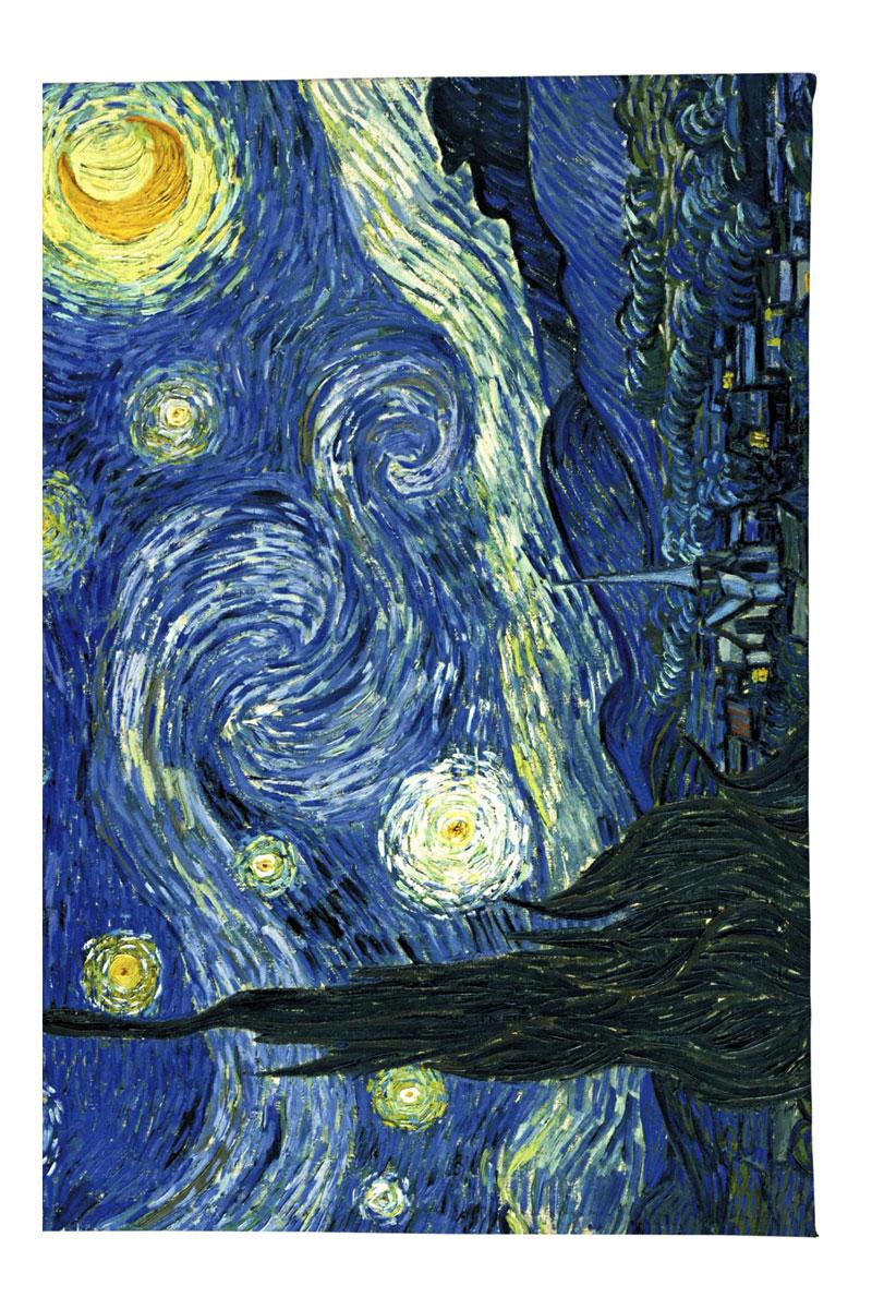 Обложка для автодокументов Mitya Veselkov Ван Гог Звездная ночь, цвет: синий. AUTOZAM002ПВХ (поливинилхлорид)Качественная обложка для автодокументов Mitya Veselkov Ван Гог Звездная ночь выполнена из легкого и прочного ПВХ, который надежно защищаетважные документы от пыли и влаги. Рисунок нанесён специальным образом и защищён отстирания. Изделие раскладывается пополам.Такая обложка поможет вам подчеркнуть свою индивидуальность!Обложка для автодокументов стильного дизайна может быть достойным и оригинальным подарком.
