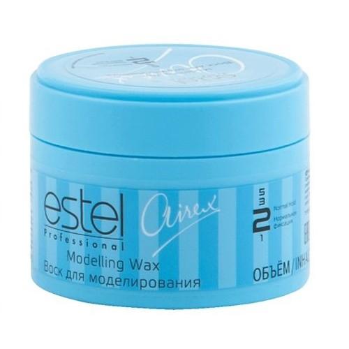 Estel Airex Воск для моделирования нормальной фиксации 75 млAW75Воск для моделирования Estel Airex cодержит натурально - растительные компоненты, питающие волосы. Подчеркивает отдельные пряди или элементы прически, хорошо фиксирует, придает волосам сияющий блеск.В результате подчеркнутая текстура волос и прически.