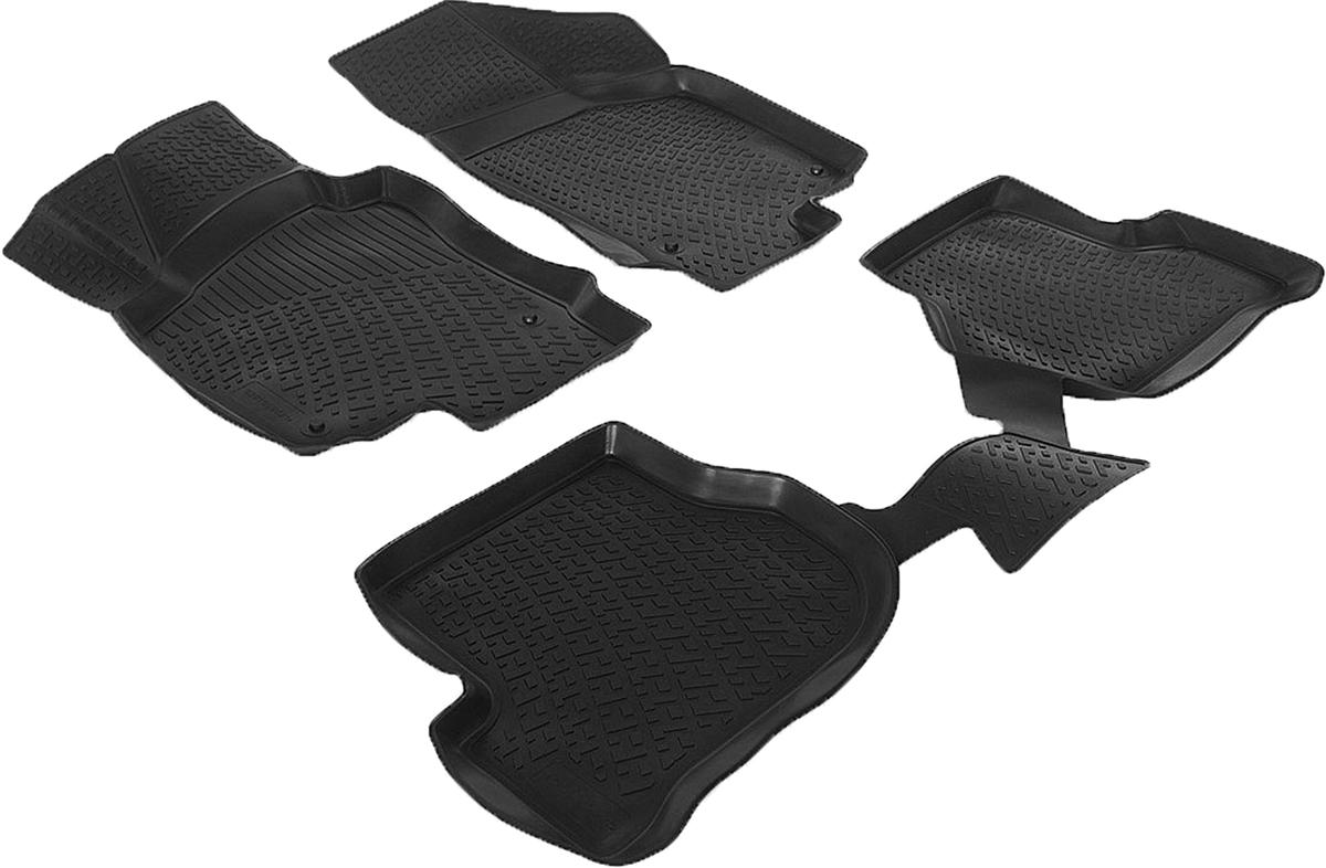 Коврики в салон автомобиля L.Locker, для Volkswagen Golf VI (09-), 4 шт0201050401Коврики L.Locker производятся индивидуально для каждой модели автомобиля из современного и экологически чистого материала. Изделия точно повторяют геометрию пола автомобиля, имеют высокий борт, обладают повышенной износоустойчивостью, антискользящими свойствами, лишены резкого запаха и сохраняют свои потребительские свойства в широком диапазоне температур (от -50°С до +80°С). Рисунок ковриков специально спроектирован для уменьшения скольжения ног водителя и имеет достаточную глубину, препятствующую свободному перемещению жидкости и грязи на поверхности. Одновременно с этим рисунок не создает дискомфорта при вождении автомобиля. Водительский ковер с предустановленными креплениями фиксируется на штатные места в полу салона автомобиля. Новая технология системы креплений герметична, не дает влаге и грязи проникать внутрь через крепеж на обшивку пола.