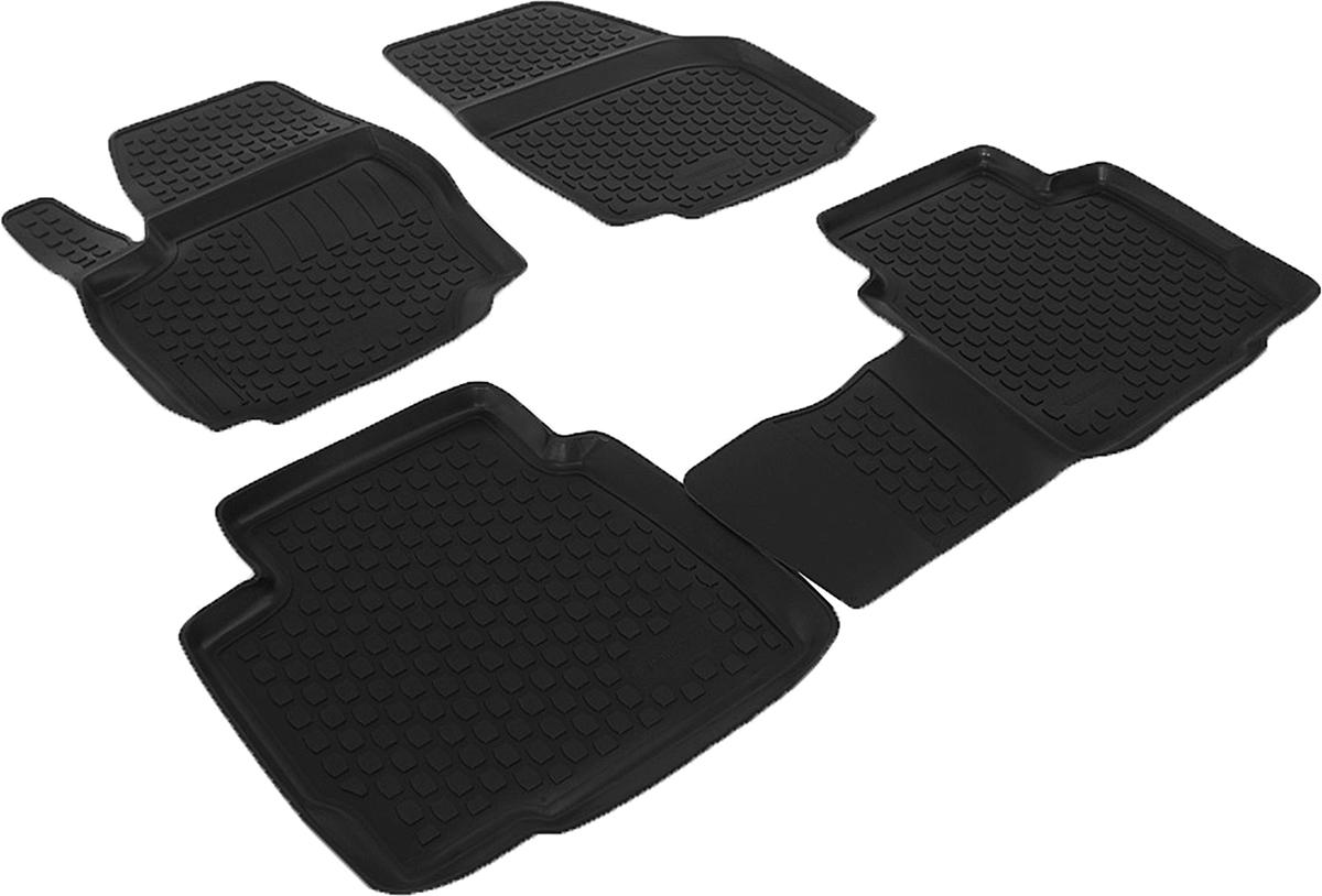 Набор автомобильных ковриков L.Locker для Ford Mondeo (07-), в салон, 4 шт0202060201Коврики L.Locker производятся индивидуально для каждой модели автомобиля из современного и экологически чистого материала, точно повторяют геометрию пола автомобиля, имеют высокий борт от 3 см до 4 см, обладают повышенной износоустойчивостью, антискользящими свойствами, лишены резкого запаха, сохраняют свои потребительские свойства в широком диапазоне температур (от -50°С до +80°С).