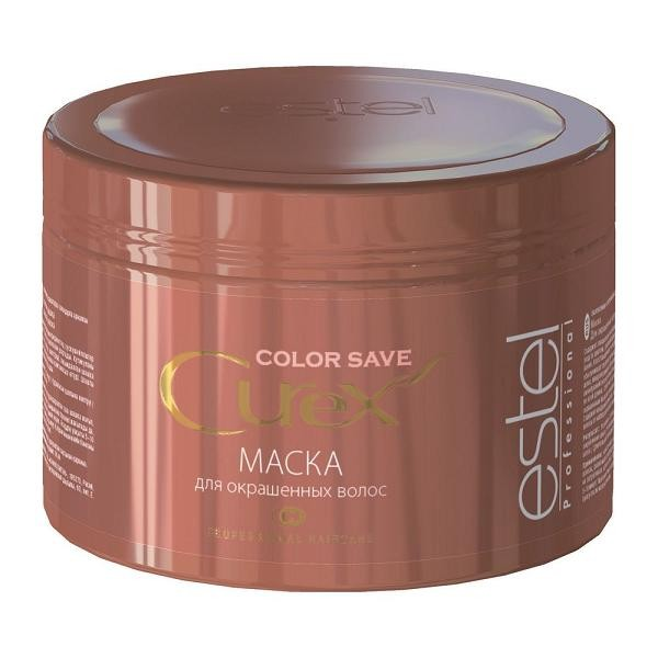 Estel Curex Color Save Маска для окрашенных волос 500 млCU500/M4Маска для окрашенных волос Estel Curex Color Save подходит для всех типов волос. Содержит специальные ингредиенты, усиливающие уход за цветом, продлевающие стойкость окрашивания. Восстанавливает и выравнивает кутикулу, обеспечивает глубокую регенерацию поврежденных волос.Микрополимеры обволакивают каждый волос своеобразной сеткой, волосы становятся обновленными по всей длине. Облегчает расчесывание, придает окрашенным волосам сияющий зеркальный блеск. Содержит канделильский воск, полирует и защищает волосы от неблагоприятного внешнего воздействия.Результат:Усиление стойкости окрашивания, закрепление цветаРегенерация и восстановление волосДлительный сияющий зеркальный блеск