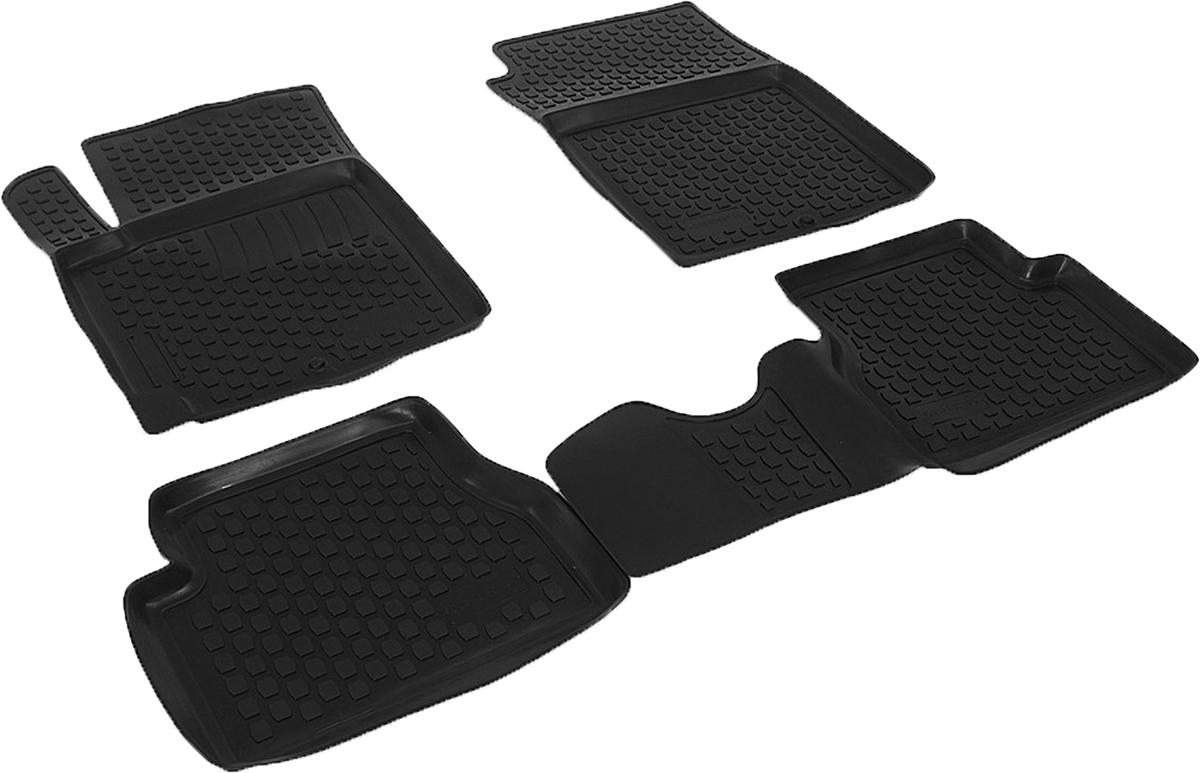 Набор автомобильных ковриков L.Locker для Kia Picanto (04-), в салон, 4 шт0203060101Коврики L.Locker производятся индивидуально для каждой модели автомобиля из современного и экологически чистого материала, точно повторяют геометрию пола автомобиля, имеют высокий борт от 3 см до 4 см, обладают повышенной износоустойчивостью, антискользящими свойствами, лишены резкого запаха, сохраняют свои потребительские свойства в широком диапазоне температур (от -50°С до +80°С).
