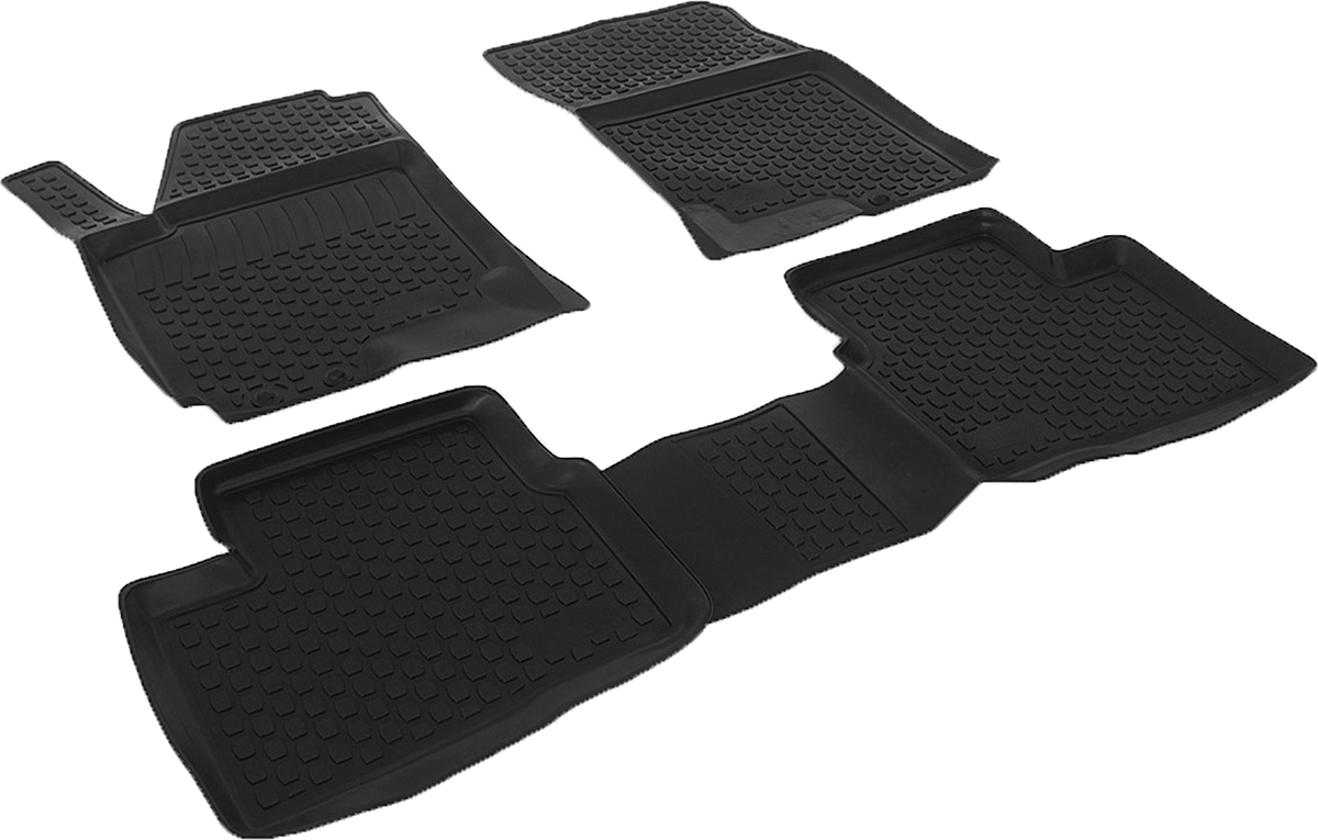 Коврики в салон автомобиля L.Locker, для Kia Ceed II (10-), 4 шт0203080501Коврики L.Locker производятся индивидуально для каждой модели автомобиля из современного и экологически чистого материала. Изделия точно повторяют геометрию пола автомобиля, имеют высокий борт, обладают повышенной износоустойчивостью, антискользящими свойствами, лишены резкого запаха и сохраняют свои потребительские свойства в широком диапазоне температур (от -50°С до +80°С). Рисунок ковриков специально спроектирован для уменьшения скольжения ног водителя и имеет достаточную глубину, препятствующую свободному перемещению жидкости и грязи на поверхности. Одновременно с этим рисунок не создает дискомфорта при вождении автомобиля. Водительский ковер с предустановленными креплениями фиксируется на штатные места в полу салона автомобиля. Новая технология системы креплений герметична, не дает влаге и грязи проникать внутрь через крепеж на обшивку пола.