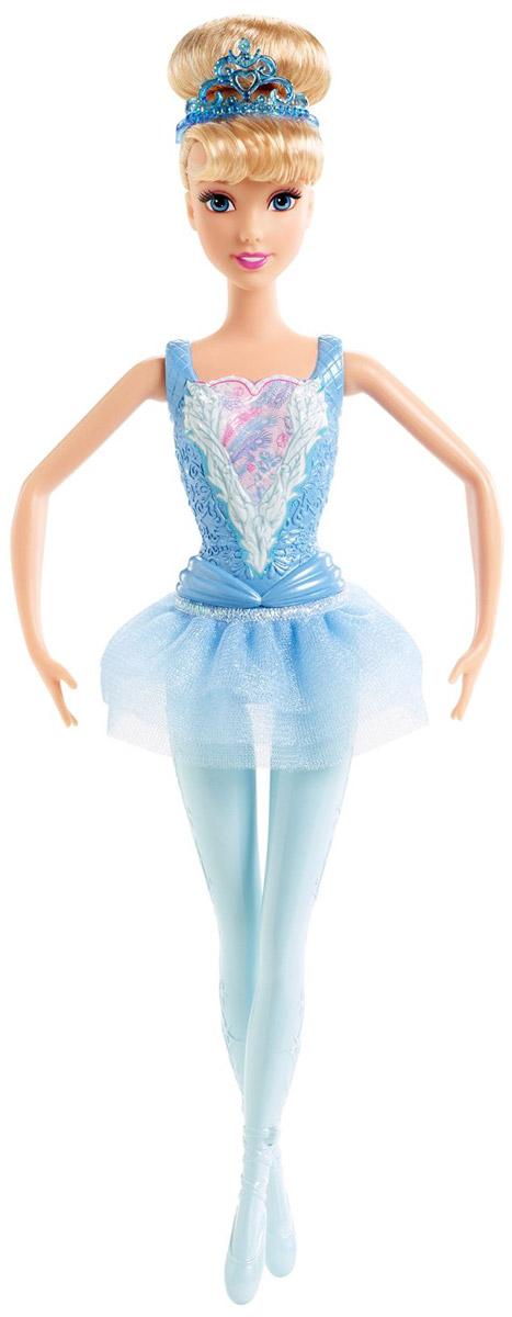 Disney Princess Кукла Принцесса-балерина Золушка цвет наряда голубой балетки претти балерина