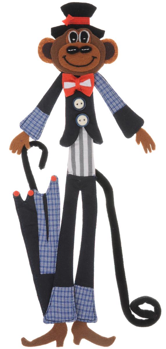 Закладка RTO  Обезьянка джентльмен , длина 33 см -  Канцтовары и организация рабочего места