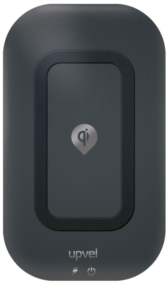 UPVEL UQ-TT01 Stingray, Black беспроводное зарядное устройство стандарта QiUQ-TT01 STINGRAYБеспроводное зарядное устройство UPVEL UQ-TT01 избавит вас от необходимости постоянно подключать и отключать кабель для зарядки своего смартфона. Просто положите смартфон на зарядную панель и оставьте его там на некоторое время.Ключевая особенность этого зарядного устройства – три элемента передачи энергии вместо одного. С UQ-TT01 вы избавлены от необходимости искать определённое положение смартфона для эффективной зарядки – просто располагайте его на заряжающей поверхности так, как вам удобно.Обратите внимание, что смартфон должен быть оборудован модулем беспроводной зарядки или специальным чехлом.Зарядное устройство совместимо со всеми устройствами, поддерживающими стандарт Qi.Эффективность: 500 мАчСтандарты: WPC-1.0, WPC-1.1Расстояние для зарядки: до 5-7 мм