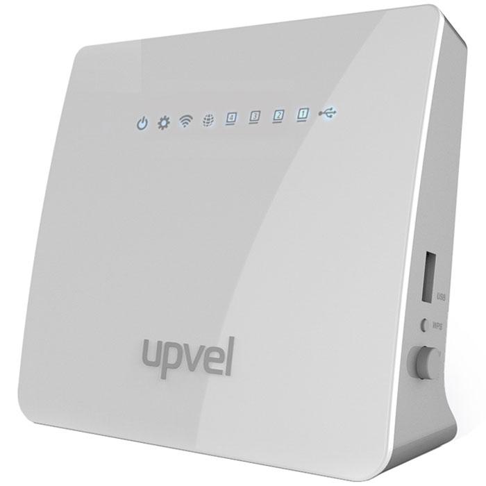 UPVEL UR-329BNU маршрутизаторUR-329BNUРоутер UPVEL UR-329BNU предназначен для домашних или небольших офисных сетей. С его помощью вы можетеобъединить в единую сеть компьютер, ноутбук, игровую приставку и другие цифровые устройства, а такжеорганизовать совместное использование внешнего жесткого диска. Модель поддерживает IPv6 и IPTV.2 внутренние антенны обеспечивают скорость передачи данных по Wi-Fi до 300 Мбит/с (стандарт 802.11n), аподдержка всех современных алгоритмов шифрования помогает надежно защитить вашу беспроводную сеть.Поддержка технологии Wireless Protected Setup (WPS) позволяет быстро подключать клиентские устройства к Wi-Fiсети нажатием кнопки.Функция Dual Image (Dual Boot) делает процедуру перепрошивки роутера значительно безопаснее. Даже еслипопытка обновления прошивки закончилась неудачей, роутер загрузит резервную копию. Таким образом,сводится к минимуму шанс получить нерабочее устройство после манипуляций с микропрограммнымобеспечением.