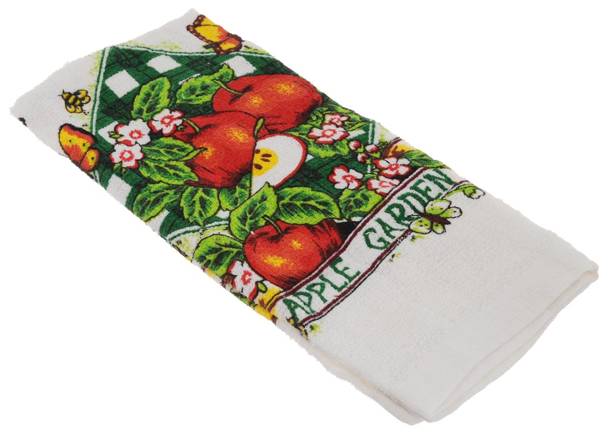 Полотенце кухонное Home Queen Яблоки, 38 х 64 см53498_яблокиКухонное полотенце Home Queen Яблоки, выполненное из 100% хлопка, оформлено ярким рисунком. Изделие предназначено для использования на кухне и в столовой.Такое полотенце станет отличным вариантом для практичной и современной хозяйки.