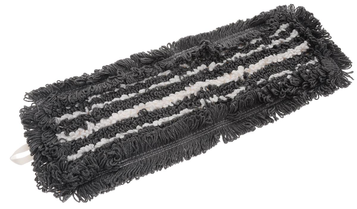 Сменная насадка для швабры Hausmann Eco-micro, цвет: серый, белый, 45 х 13 смHM-45133_серыйСменная насадка к швабрам Hausmann Eco-micro изготовлена из хлопка и микрофибры. Насадка эффективно очищает от сильных загрязнений любые виды напольных покрытий. Стойкая к воздействию моющих средств. Можно стирать в стиральной машине при температуре 60°С.Размер насадки: 45 х 13 см.Длина волокна: 2,5 см.