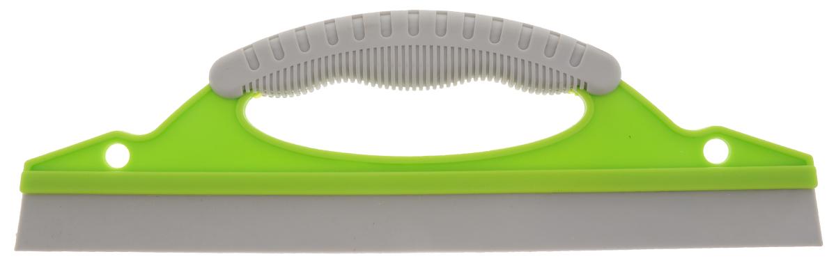 Водосгон Sapfire, с резиновым лезвием, цвет: салатовый, серый, 31 х 9,7 х 2 см0480-SF_Салатовый, серыйВодосгон Sapfire изготовлен из пластика с применением термопластичного резинового лезвия. Водосгон предназначен для эффективного удаления остатков влаги с кузова и стекол автомобиля, тем самым исключая появление пятен и предупреждая старение краски. Водосгон будет также незаменим в дождь, когда на стеклах появляются капли воды. Эргономичная ручка ,с резиновой вставкой предотвращает выскальзывание водосгона из рук. Водосгон Sapfire станет незаменимым аксессуаром в вашем автомобиле.Размер водосгона: 31 х 9,7 х 2 см.