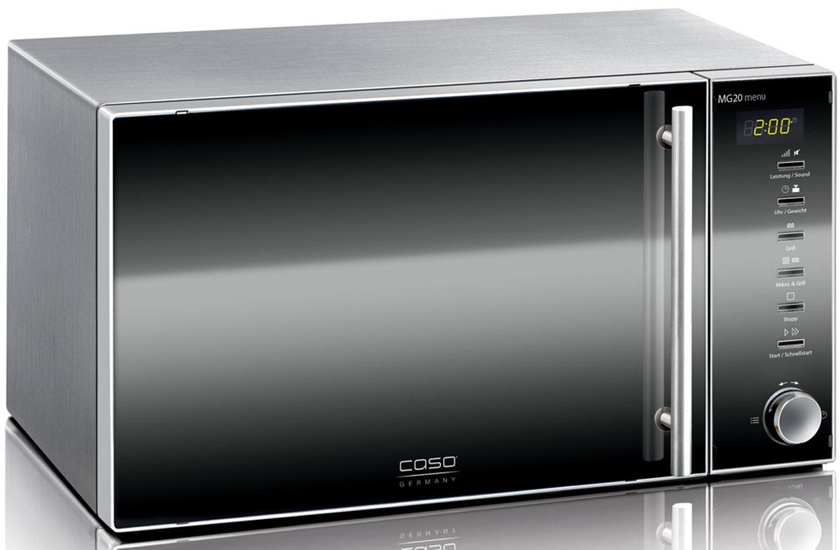 Caso MG 20 Menu, Black микроволновая печь