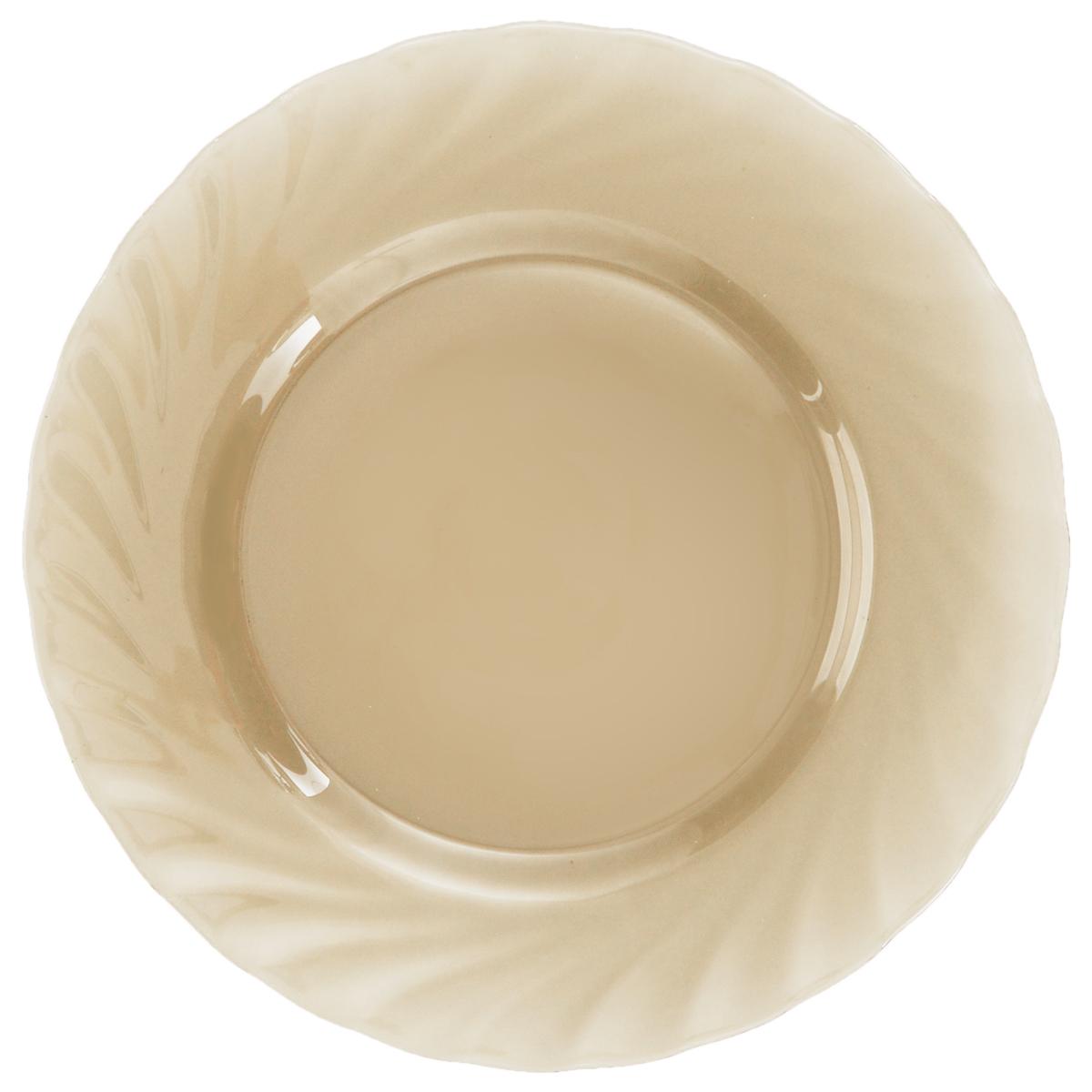 Тарелка десертная Luminarc Ocean Eclipse, диаметр 19,5 смH0246Десертная тарелка Luminarc Ocean Eclipse изготовлена из ударопрочного стекла. Такая тарелка прекрасно подходит как для торжественных случаев, так и для повседневного использования. Идеальна для подачи десертов, пирожных, тортов и многого другого. Она прекрасно оформит стол и станет отличным дополнением к вашей коллекции кухонной посуды. Диаметр тарелки (по верхнему краю): 19,5 см.