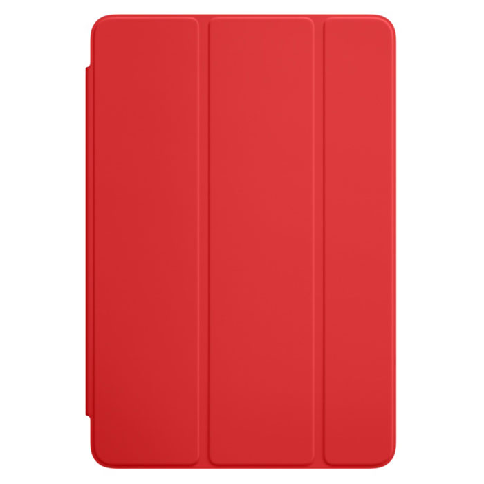 Apple Smart Cover чехол для iPad mini 4, Red qialino luxury smart stand flip cover case for ipad mini 4 wake up