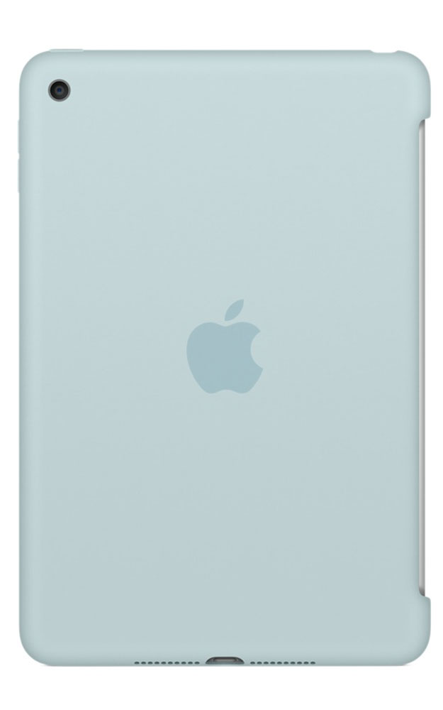 Apple Silicone Case чехол для iPad mini 4, Turquoise чехол книжка g case slim premium для apple ipad mini 4 темно зелёный