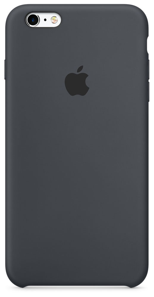 Apple Silicone Case чехол для iPhone 6s Plus, Charcoal Gray аксессуар чехол krutoff silicone case для apple iphone 6 6s mint 10731