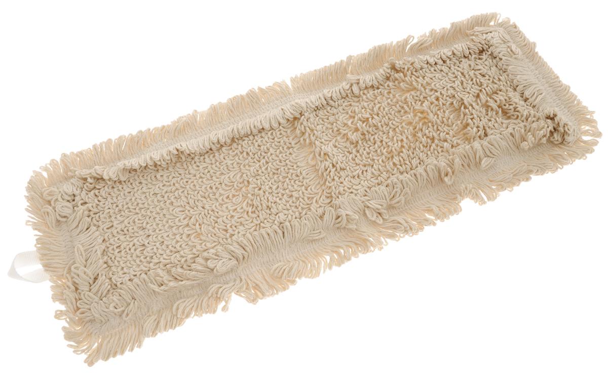 Сменная насадка для швабры Hausmann Eco-perfect, цвет: бежевый, 41 х 11,5 см