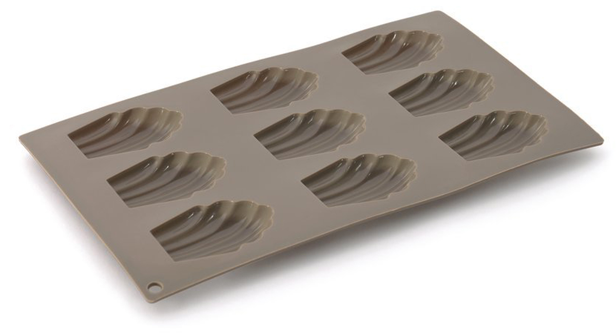 Форма для выпечки BergHOFF Studio, силиконовая, ракушки, 9 ячеек1101861Форма для выпечки BergHOFF Studio - в силиконовых формах торты и пирожные пекутся быстро и равномерно, а также с легкостью извлекаются, даже самые деликатные из них, так как силикон имеет удивительные антипригарные свойства. Более того, материал легко чистить в посудомоечной машине и безопасно использовать в духовке при температуре до 230 ° с. Хорошая новость для нетерпеливых и жаждущих скорей полакомиться: силикон остывает очень быстро!