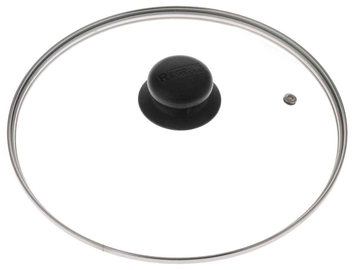 Крышка Regent Inox, стеклянная. Диаметр 24 см24Крышка Regent Inox изготовлена из термостойкого стекла. Обод, выполненный из высококачественной нержавеющей стали, защищает крышку от повреждений, а ручка, выполненная из термостойкого пластика, защищает ваши руки от высоких температур. Крышка удобна в использовании, позволяет контролировать процесс приготовления пищи. Имеется отверстие для выпуска пара. Характеристики:Материал: стекло, нержавеющая сталь, пластик. Диаметр: 24 см. Размер упаковки: 24 см х 24 см х 6 см. Производитель:Италия. Артикул: 24.