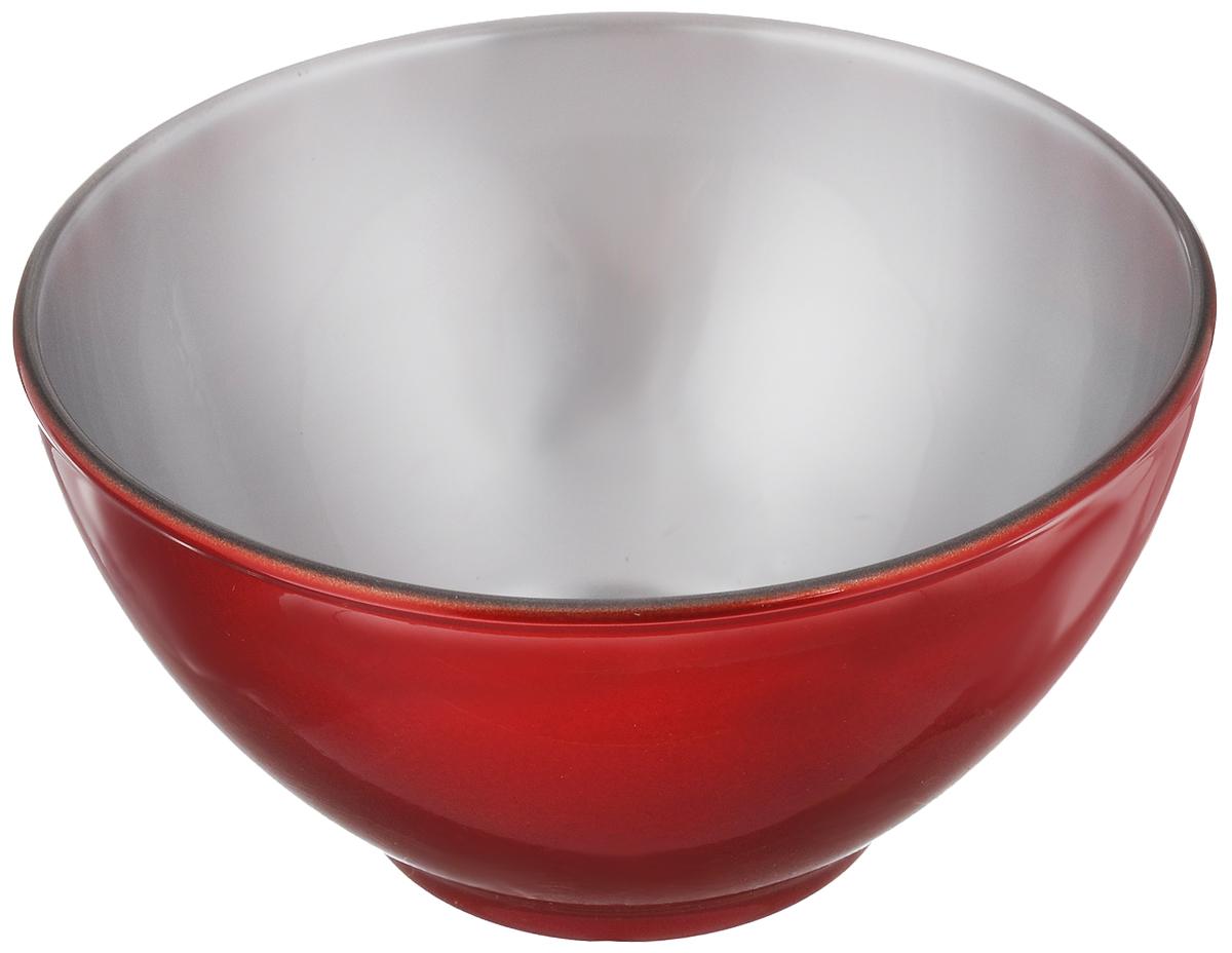 Пиала Luminarc Flashy Colors Coulis, цвет: красный, диаметр 13 смJ1125_красныйПиала Luminarc Flashy Colors Coulis изготовлена из высококачественного стекла. Изделие прекрасно подойдет для салатов, супа или мороженого. Благодаря оригинальному дизайну, пиала понравится вашим детям. Он дополнит коллекцию кухонной посуды и будет служить долгие годы. Пиала выдерживает максимальную температуру до +110°С.Объем салатника: 500 мл. Диаметр пиалы (по верхнему краю): 13 см. Высота стенок пиалы: 7 см.
