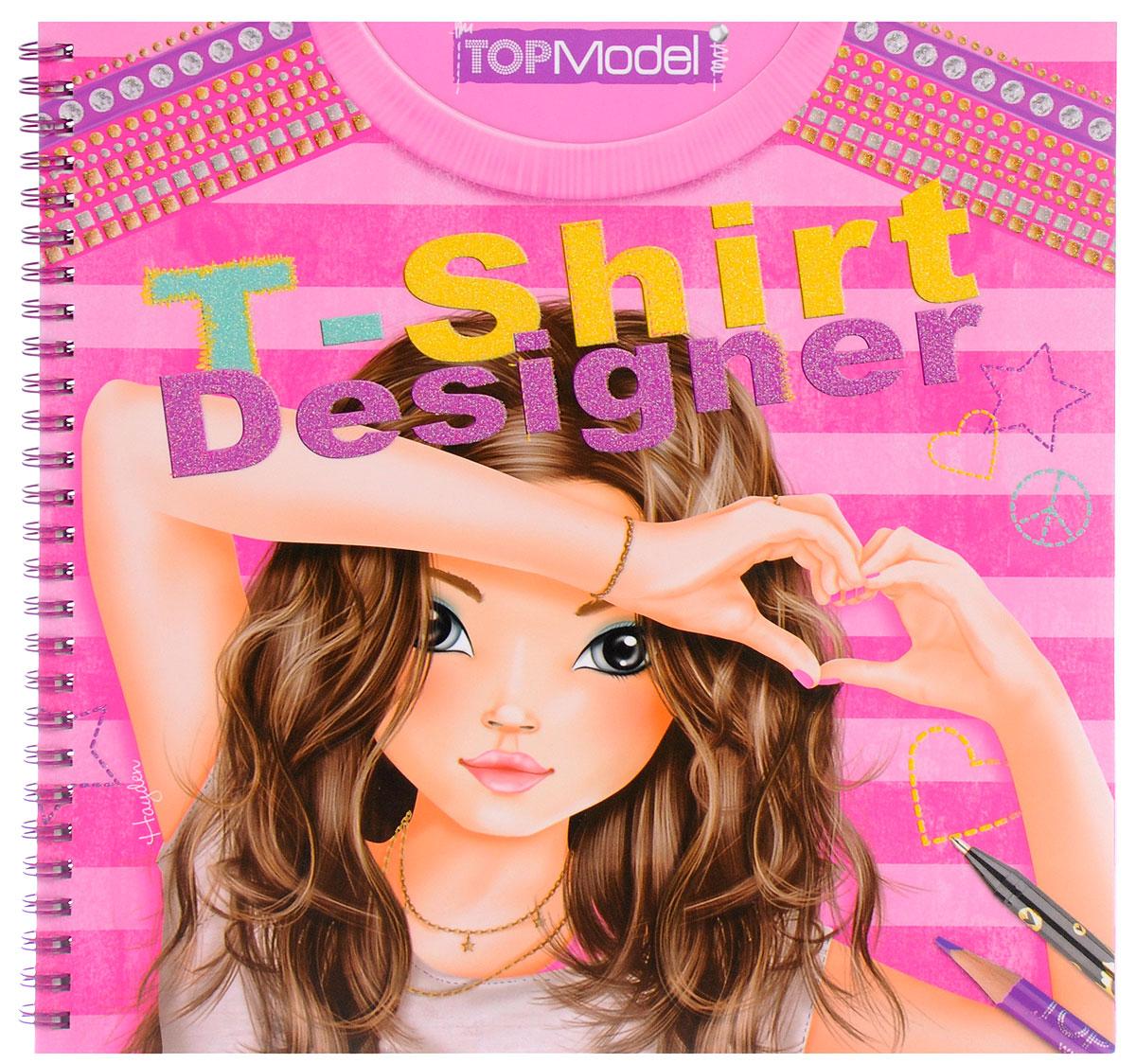 Top Model: T-Shirt Designer. Раскраска (+ наклейки)