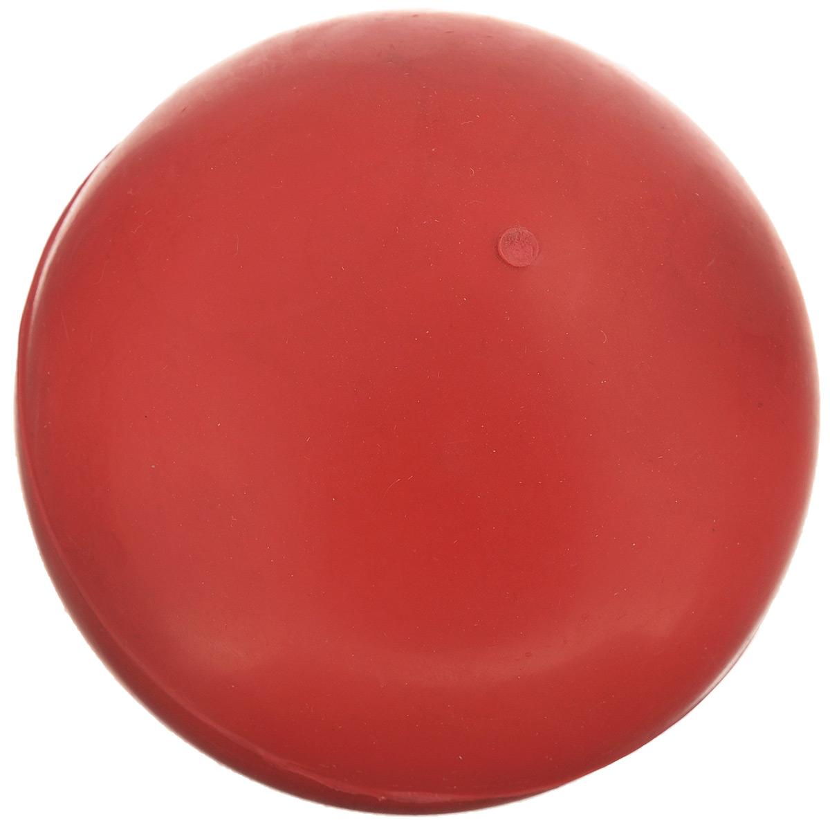 Игрушка для собак Beeztees Мяч, цвет: красный, диаметр 7,5 см игрушка для животных каскад мяч мина резиновый цвет красный 10 см