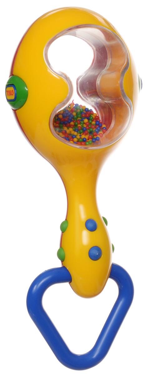 Tolo Музыкальный инструмент Маракас цвет красный синий желтый набор развивающий tolo toys динозавры