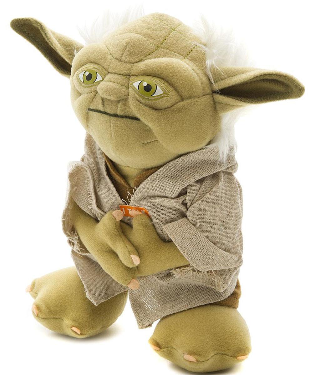 Star Wars Мягкая озвученная игрушка Йода 20 см мягкие игрушки star wars игрушка starwars йода плюшевый со звуком