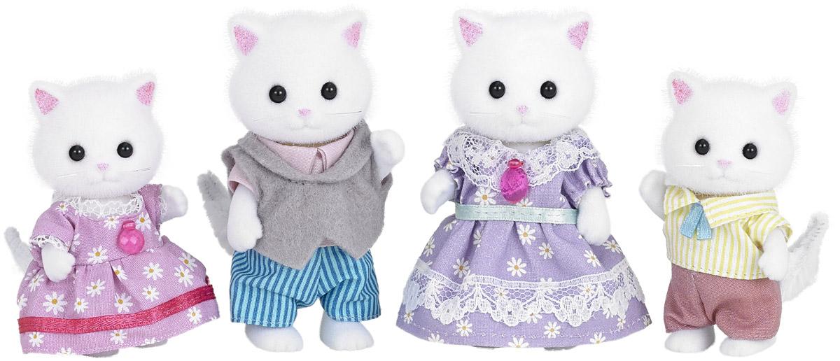 Sylvanian Families Набор фигурок Семья персидских котов 4 шт 5216 игрушка sylvanian families семья персидских котов 3137