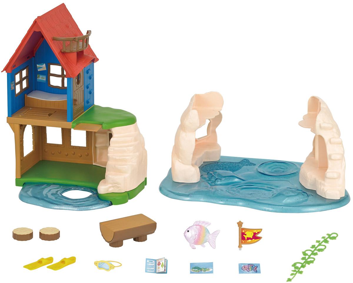 Sylvanian Families Игровой набор Домик на рифе набор холодильник с продуктами sylvanian families