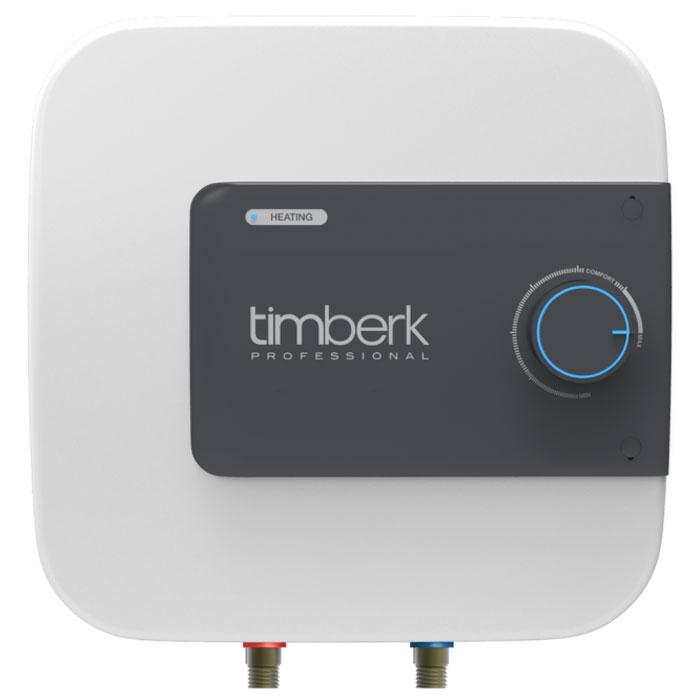 """Накопительный водонагреватель Timberk SWH SE1 15 VO имеет мндивидуальный дизайн, не имеющий аналогов на рынке. Расположение прибора - вертикальное, над или под мойкой. Hi-tech дизайн и эргономичность водонагревателя делают его идеальным дополнением интерьера кухонь и ванных комнат.  Уникальная мощность нагревательного элемента для водонагревателей с таким небольшим объемом внутреннего бака - 2000 Вт. Ультра-быстрый нагрев воды, не имеющий аналогов! Световая индикация процесса нагрева воды и включения прибора в сеть находится на лицевой панели. Индикатор ярко-синего цвета встроен в ручку-регулятор.  3L Safety protection system (3L SPS):  Защита прибора от перегрева  Защита от """"сухого"""" нагрева  Защита от избыточного давления внутри бака и протечки  Специальный режим """"Comfort"""" позволяет задать наиболее комфортную температуру нагрева воды (+58°С (±2°С)), а также соответствует наиболее эффективному режиму расхода электроэнергии и снижению уровня образования накипи. Внутренний бак покрыт двойным слоем стеклофарфоровой эмали. В состав эмали добавлено революционное соединение ионов серебра (Ag+) в сочетании с ионами меди (Cu++), такой слой эмали внутри бака обладает очищающими и антибактериальными свойствами.  Медный нагревательный элемент Timberk SWH SE1 15 VO с увеличенной мощностью и специальным защитным покрытием обеспечит быстрый нагрев воды и долгую службу прибора, а увеличенный сменный магниевый анод   переназначен для защиты от коррозии внутреннего резервуара.  Как выбрать водонагреватель. Статья OZON Гид"""