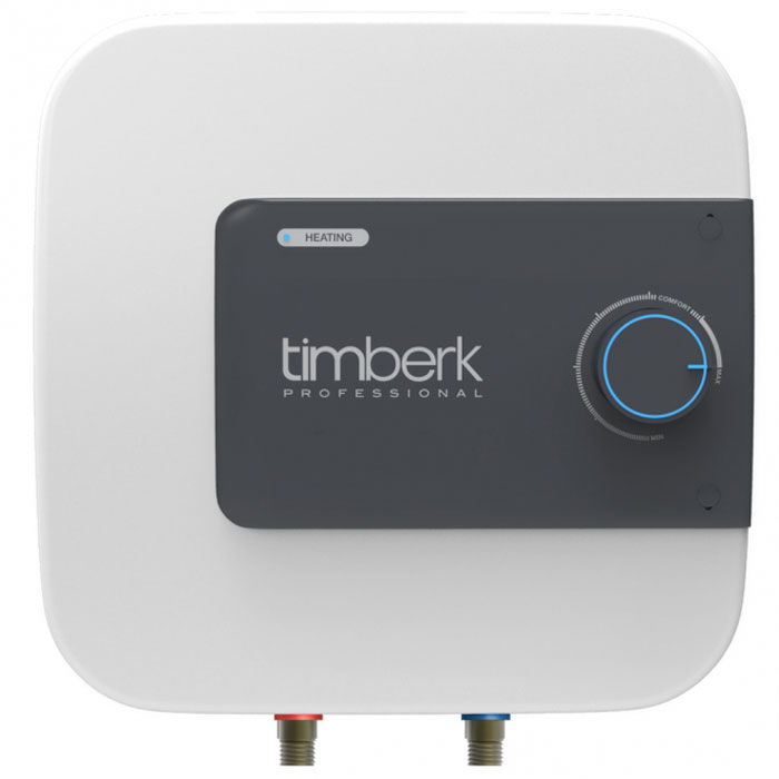 """Накопительный водонагреватель Timberk SWH SE1 30 VO имеет мндивидуальный дизайн, не имеющий аналогов на рынке. Расположение прибора - вертикальное, над или под мойкой. Hi-tech дизайн и эргономичность водонагревателя делают его идеальным дополнением интерьера кухонь и ванных комнат.  Уникальная мощность нагревательного элемента для водонагревателей с таким небольшим объемом внутреннего бака - 2000 Вт. Ультра-быстрый нагрев воды, не имеющий аналогов! Световая индикация процесса нагрева воды и включения прибора в сеть находится на лицевой панели. Индикатор ярко-синего цвета встроен в ручку-регулятор.  3L Safety protection system (3L SPS):  Защита прибора от перегрева  Защита от """"сухого"""" нагрева  Защита от избыточного давления внутри бака и протечки  Специальный режим """"Comfort"""" позволяет задать наиболее комфортную температуру нагрева воды (+58°С (±2°С)), а также соответствует наиболее эффективному режиму расхода электроэнергии и снижению уровня образования накипи. Внутренний бак покрыт двойным слоем стеклофарфоровой эмали. В состав эмали добавлено революционное соединение ионов серебра (Ag+) в сочетании с ионами меди (Cu++), такой слой эмали внутри бака обладает очищающими и антибактериальными свойствами.  Медный нагревательный элемент Timberk SWH SE1 30 VO с увеличенной мощностью и специальным защитным покрытием обеспечит быстрый нагрев воды и долгую службу прибора, а увеличенный сменный магниевый анод   переназначен для защиты от коррозии внутреннего резервуара.  Как выбрать водонагреватель. Статья OZON Гид"""