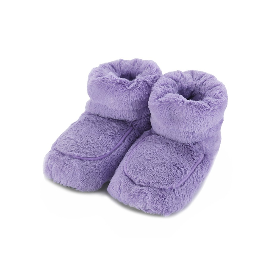 Warmies Сапожки-грелки цвет лавандовый warmies тапочки грелки цвет фиолетовый белый