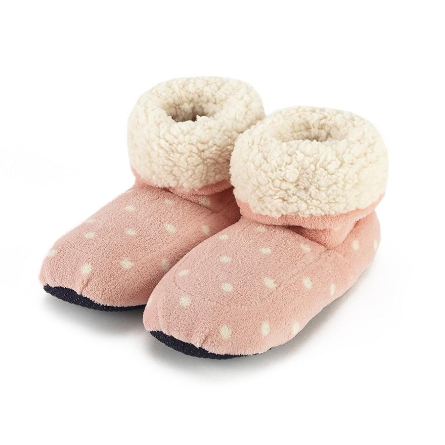 Warmies Сапожки-грелки цвет розовый белый