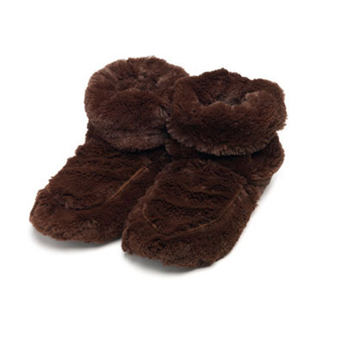 Warmies Сапожки-грелки цвет коричневый размер 35/40 warmies тапочки грелки бежевые 35 40