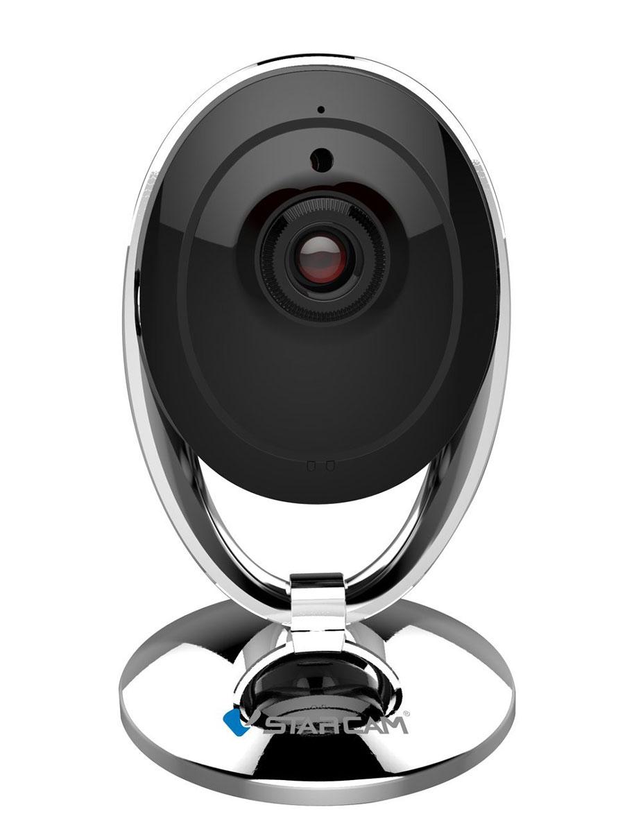 Vstarcam C7893WIP IP камера1600000360068Vstarcam C7893WIP - это новейшая и самая компактная WIFI IP камера из линейки Vstarcam с поддержкой технологии p2p (простая настройка), HD качеством видео (1280х720 пикс), ИК подсветкой до 10 метров, современным дизайном. Vstarcam C7893WIP - это идеальное соотношение низкой стоимости и широкого функционала в миниатюрном исполнении.Vstarcam C7893WIP - это целая компактная видеосистема в едином корпусе, простая и надежная. Благодаря наличию протоколов Onvif и RTSP камера может не только передавать высококачественное видео на ваш планшет, смартфон или ноутбук, но и записывать видео в архив по событию, детекции движения, расписанию. Vstarcam C7893WIP - это идеальное решение для офиса, загородного дома, квартиры. Основные сферы применения камеры - это наблюдение за сотрудниками, за детьми, за производственным процессом.Питание: 5 В Как выбрать камеру видеонаблюдения для дома. Статья OZON Гид