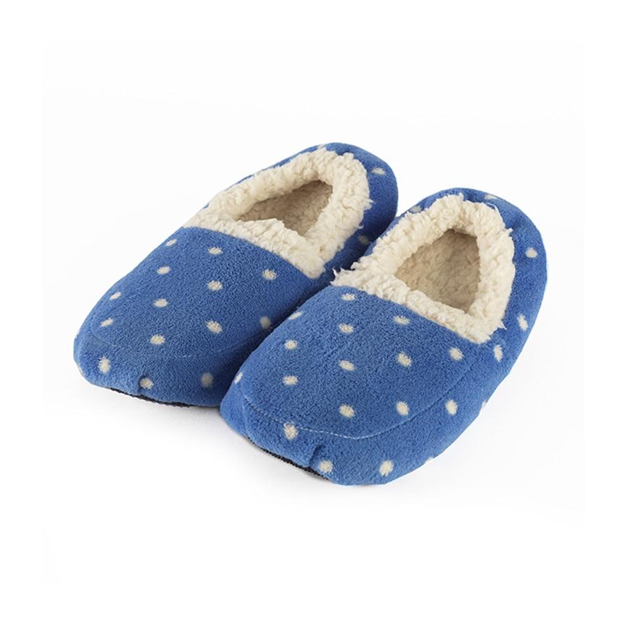 Warmies Тапочки-грелки цвет синий белый грелки warmies cozy plush игрушка грелка змея