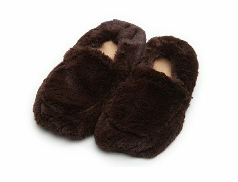Warmies Тапки-грелки цвет коричневый размер 35/40 warmies тапочки грелки бежевые 35 40