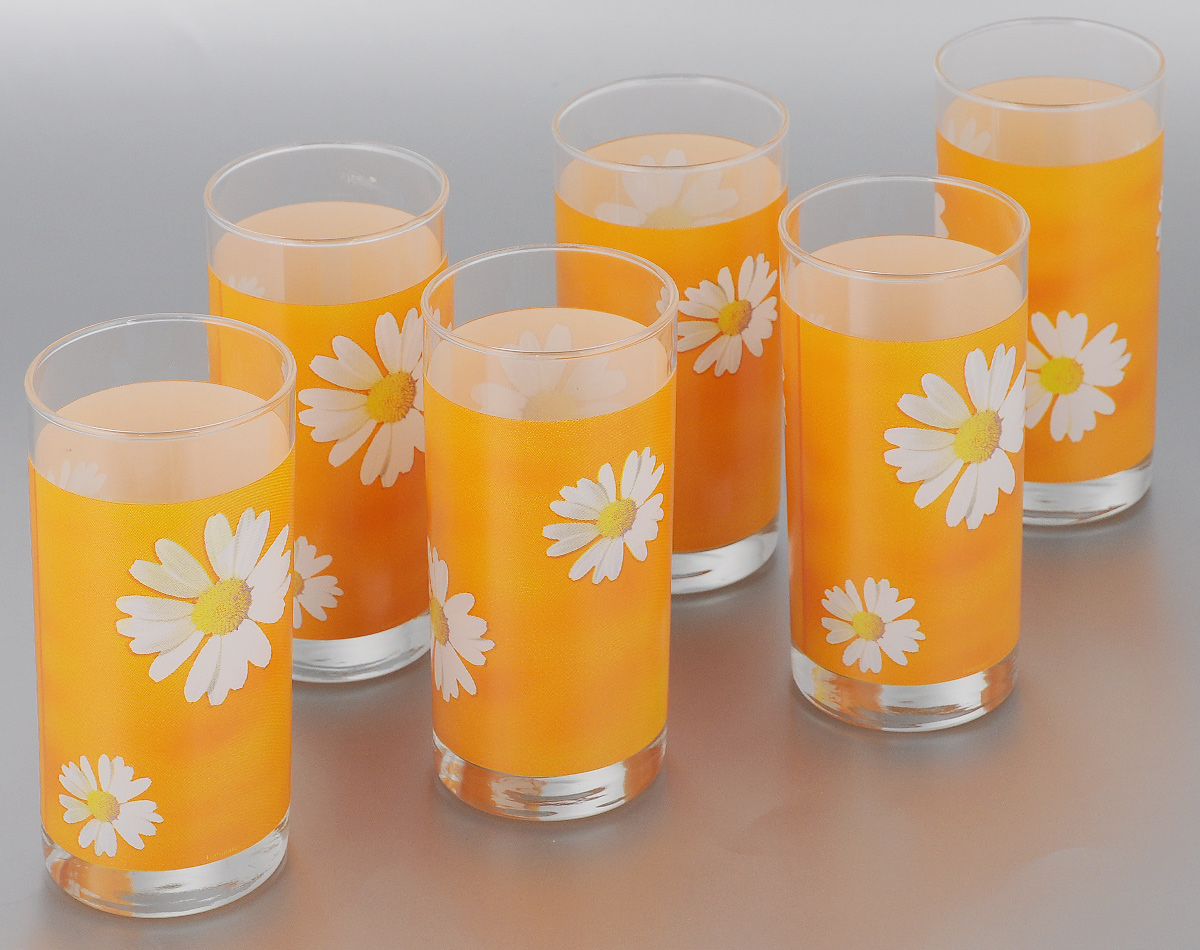 Набор стаканов Luminarc Paquerette Melon, 270 мл, 6 шт набор стаканов luminarc исланд 330 мл 6 шт