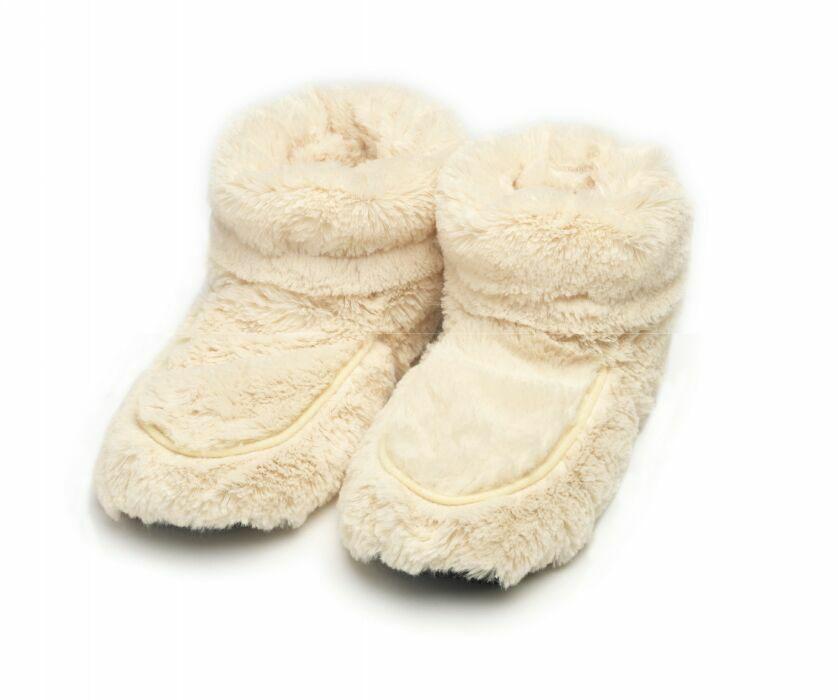 Warmies Сапожки-грелки цвет кремовый размер 35/40 warmies тапочки грелки бежевые 35 40